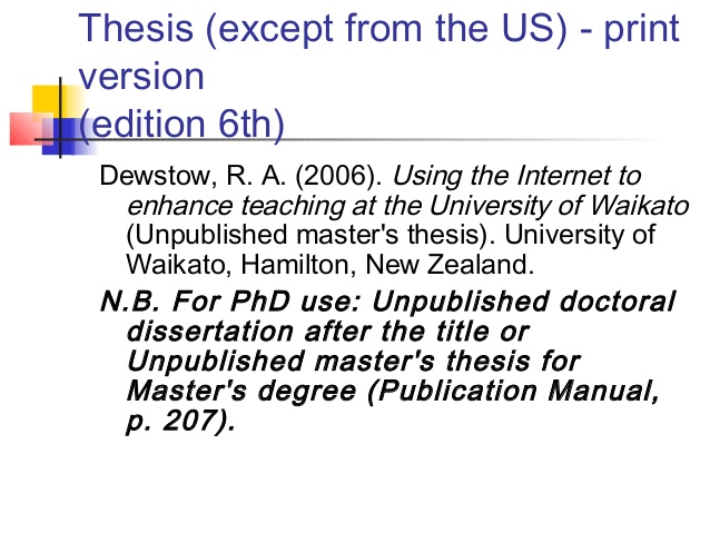 Unpublished phd thesis