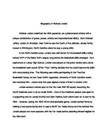 My high school application essay