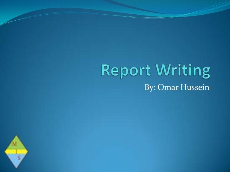 Report writing help online