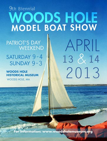 Woods Hole Model Boat Show 2013